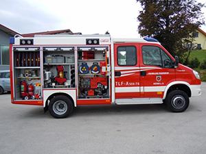 gasilska vozila ubodna TLFA-A-500-TS